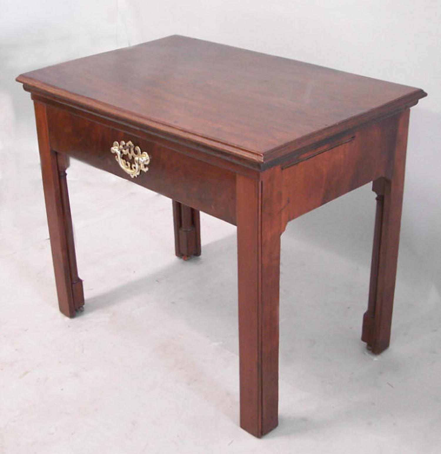 English mahogany architects desk c1790