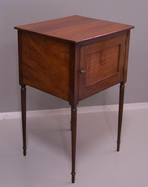 Price my item value of sheraton mahogany night stand c1880 for Night stand cost