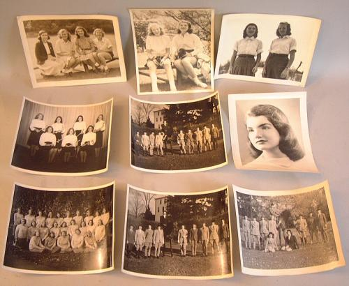 Jacqueline Boubier kennedy Onassis photographs black white