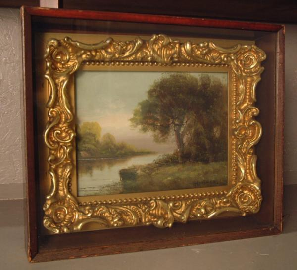 Painting Over Gold Picture Frames