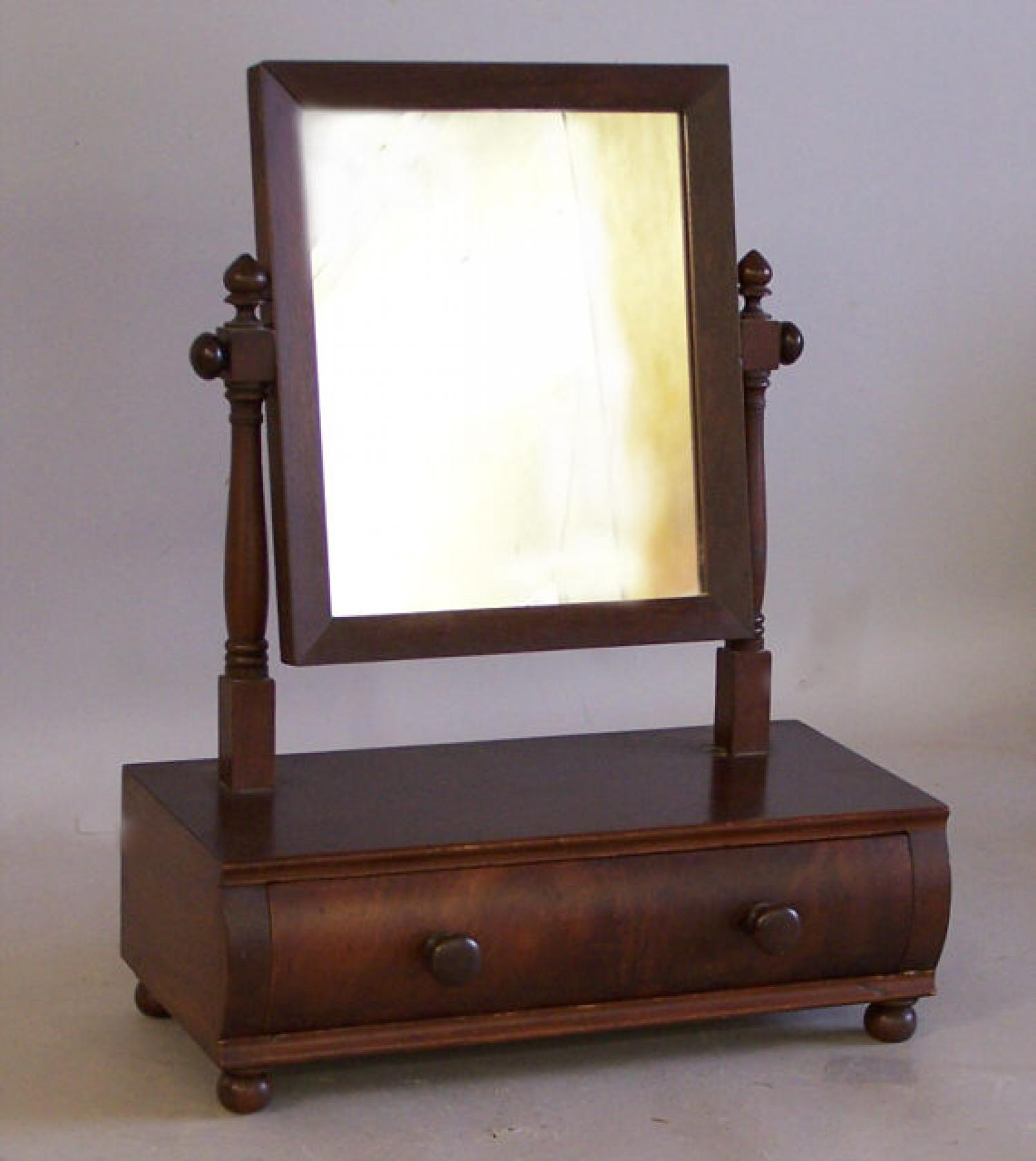 Antique gentlemans shaving mirror c1830