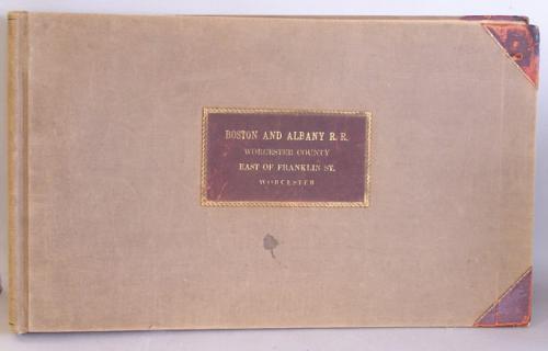 Boston Albany Rail Road maps 1883