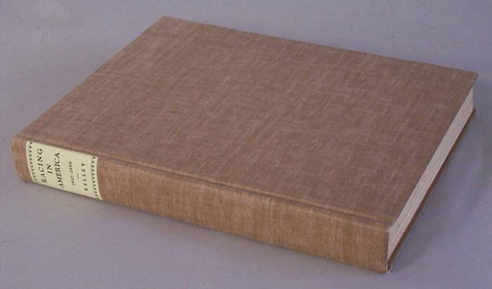 Illustrated book Racing in America 1937 to 1959 Kelley