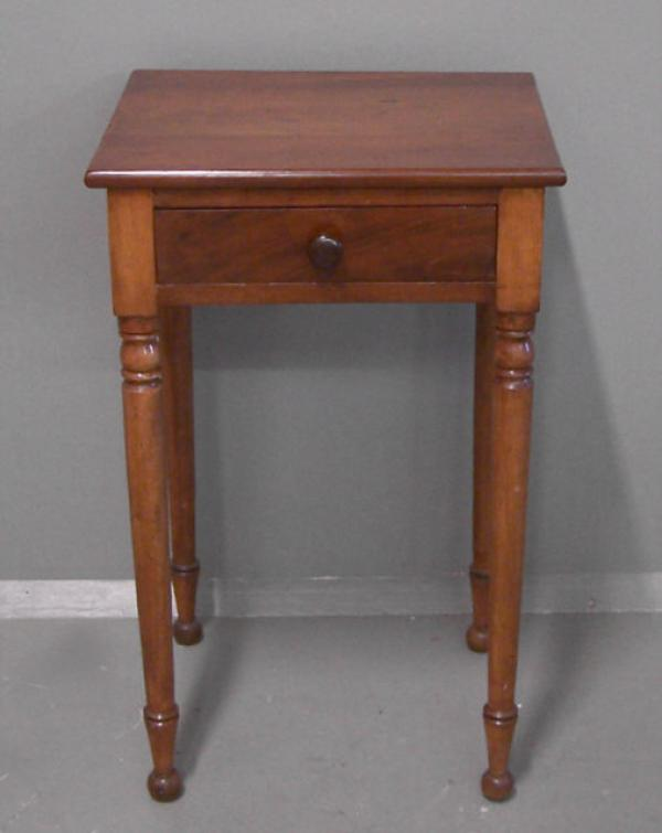Price my item value of one drawer 19th century country for Night stand cost