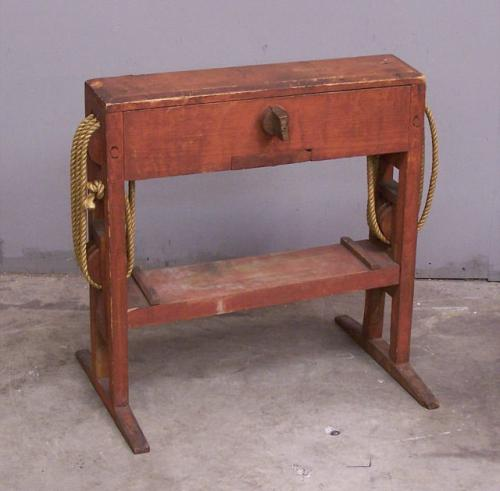 Price my item value of early american primitive cheese for Furniture valuation guides