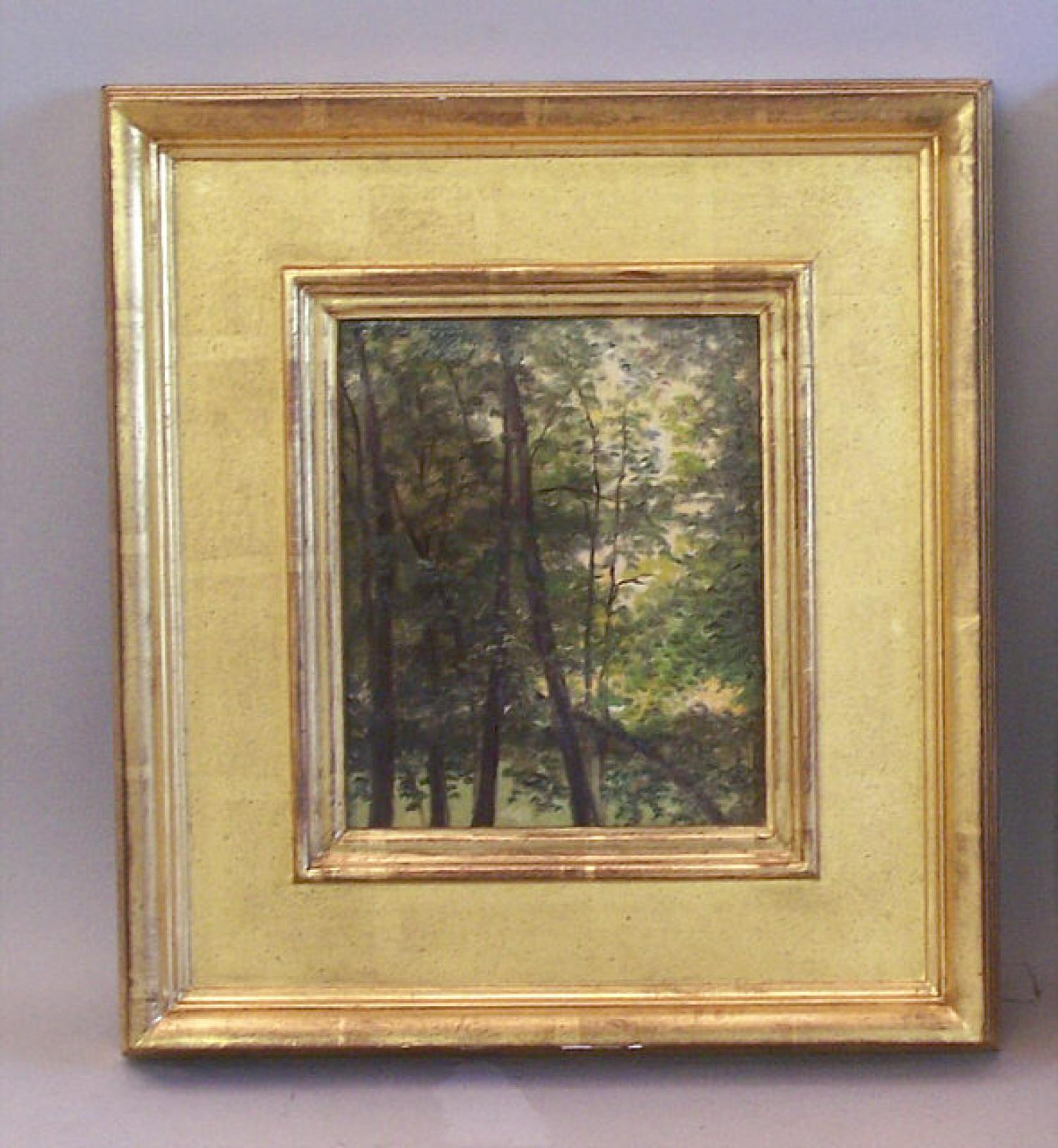Nelson Augustus Moore landscape oil painting on canvas
