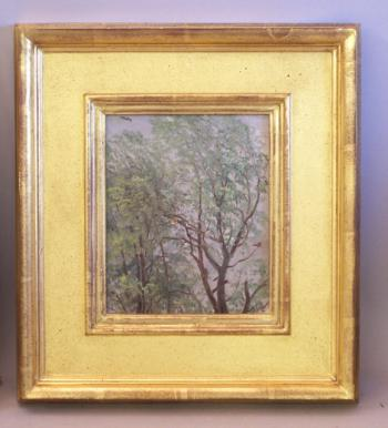 Image of Nelson Augustus Moore landscape oil painting on canvas
