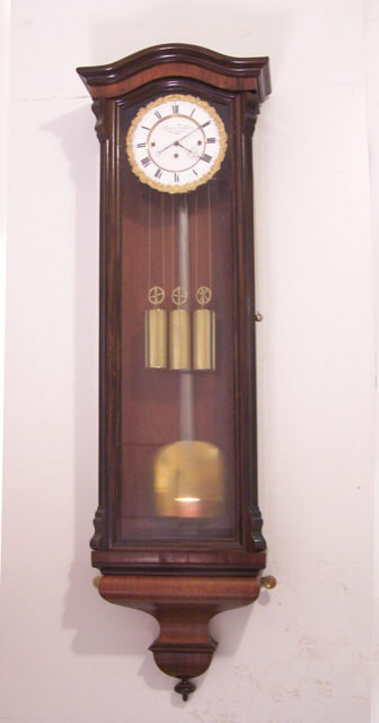 Fredrick Turban Vienna Wall Clock c1855