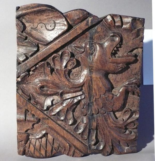 Price my item value of th century carved wood dragon panel