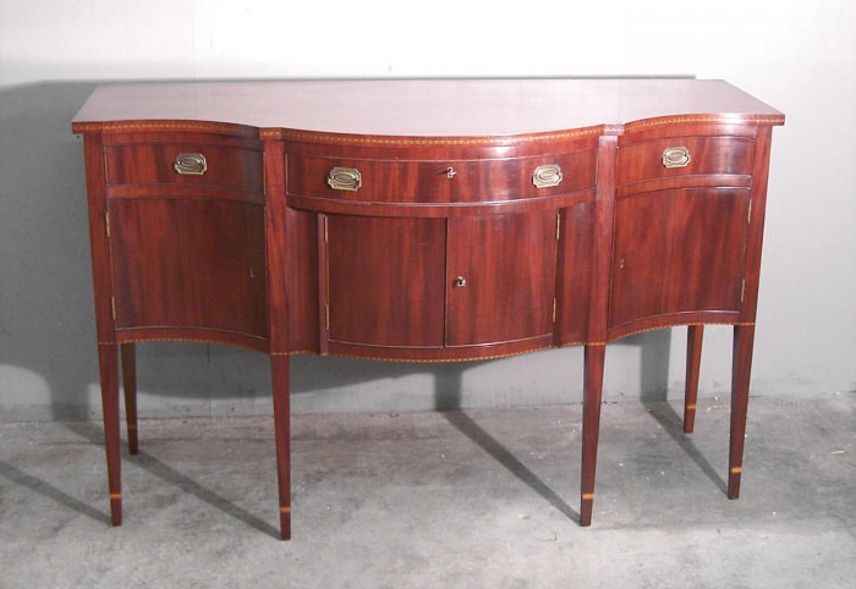 Margolis mahogany american federal hepplewhite style sideboard for Sideboard fa r wohnzimmer