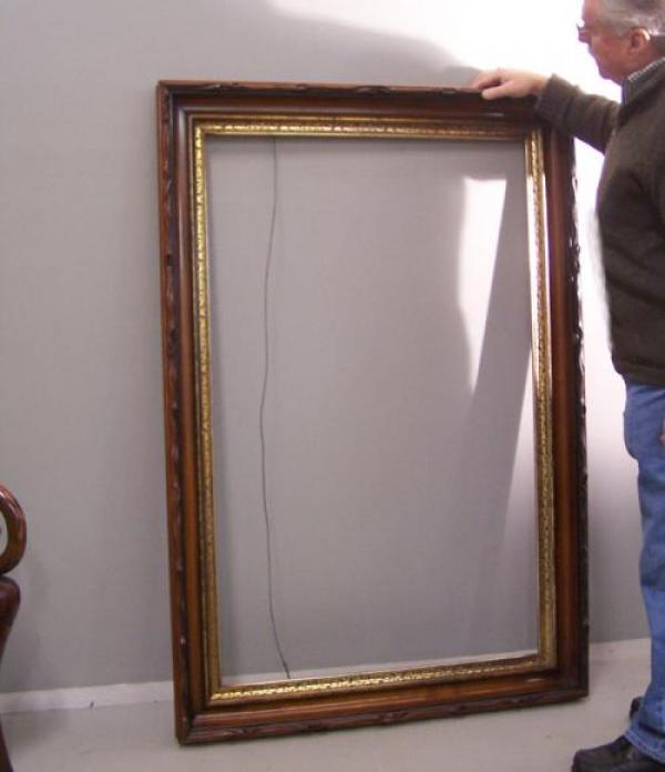 Price my item value of large thomas hopper victorian for Types of mirror frames