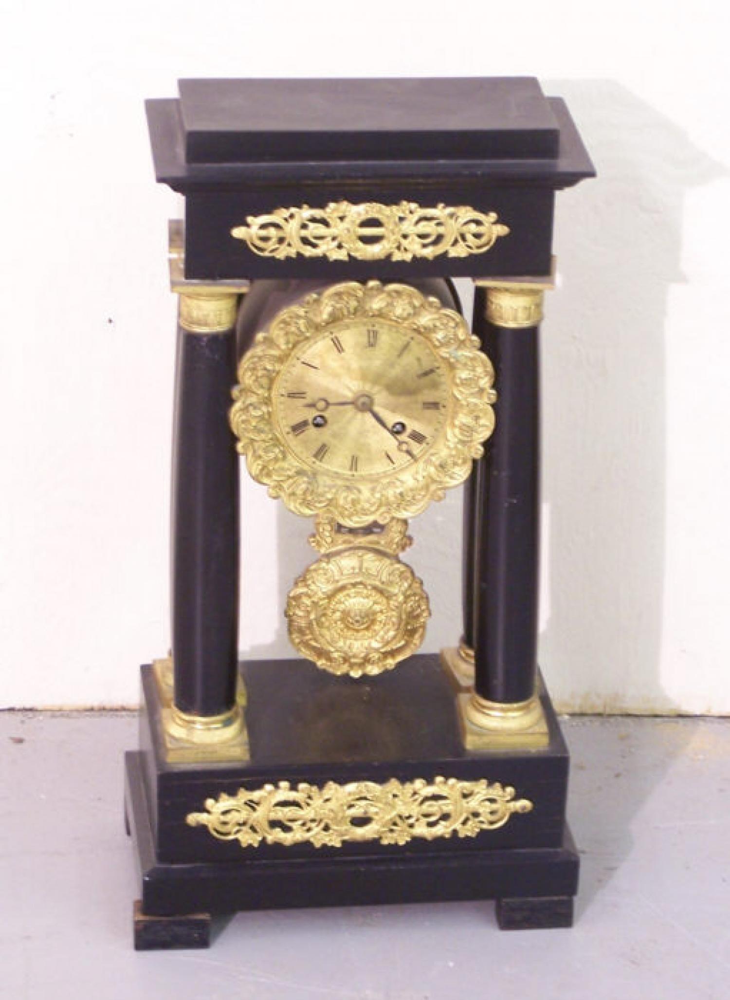 French Empire Clock