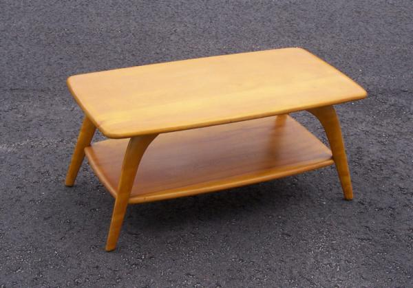Price My Item Value Of Heywood Wakefield Cocktail Coffee Table M335g C1950
