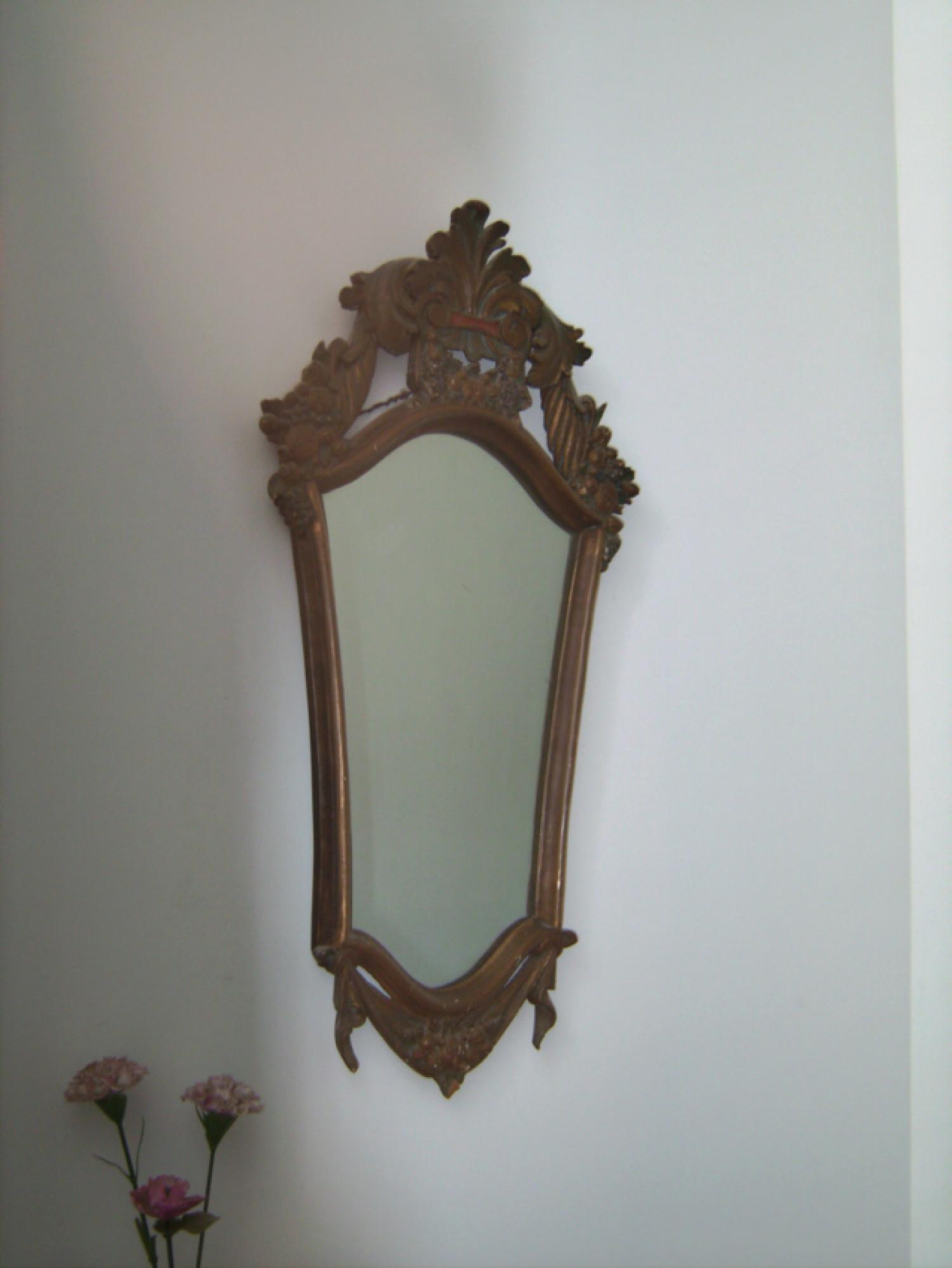 French shield form all mirror c1900