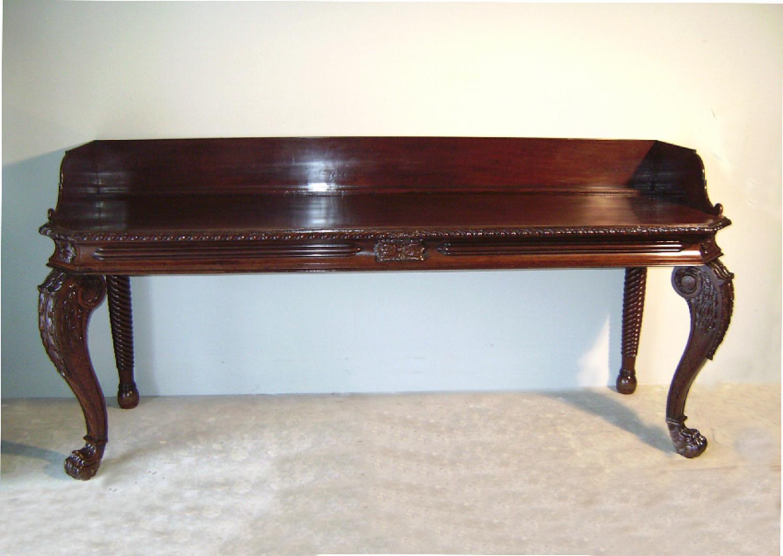 English mahogany sideboard c1825 to 1835