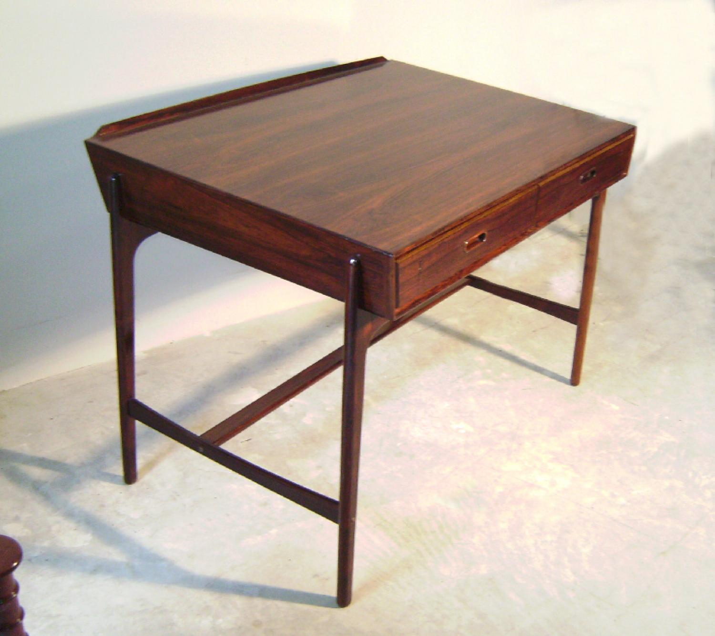 Sven Madsen Mid Century Modern Danish rosewood desk c1958