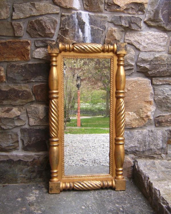 American Federal Gold Leaf Mirror C1820