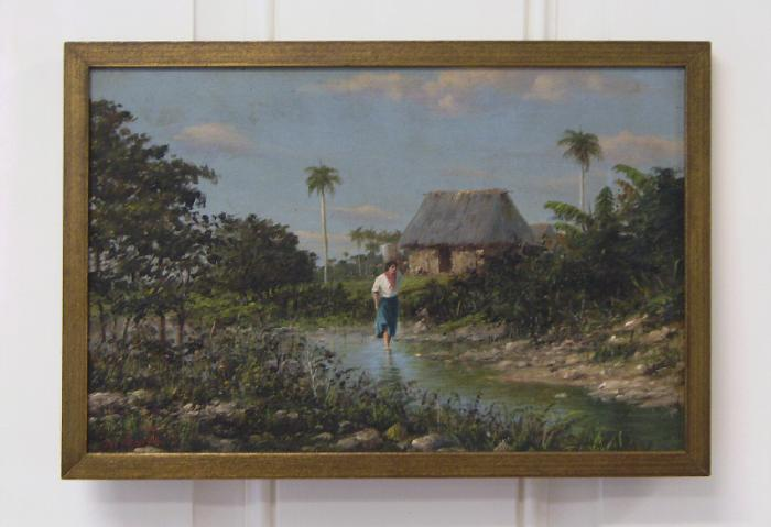 Landscape by Mexican Cuban artist Gonzalo Escalante Diaz