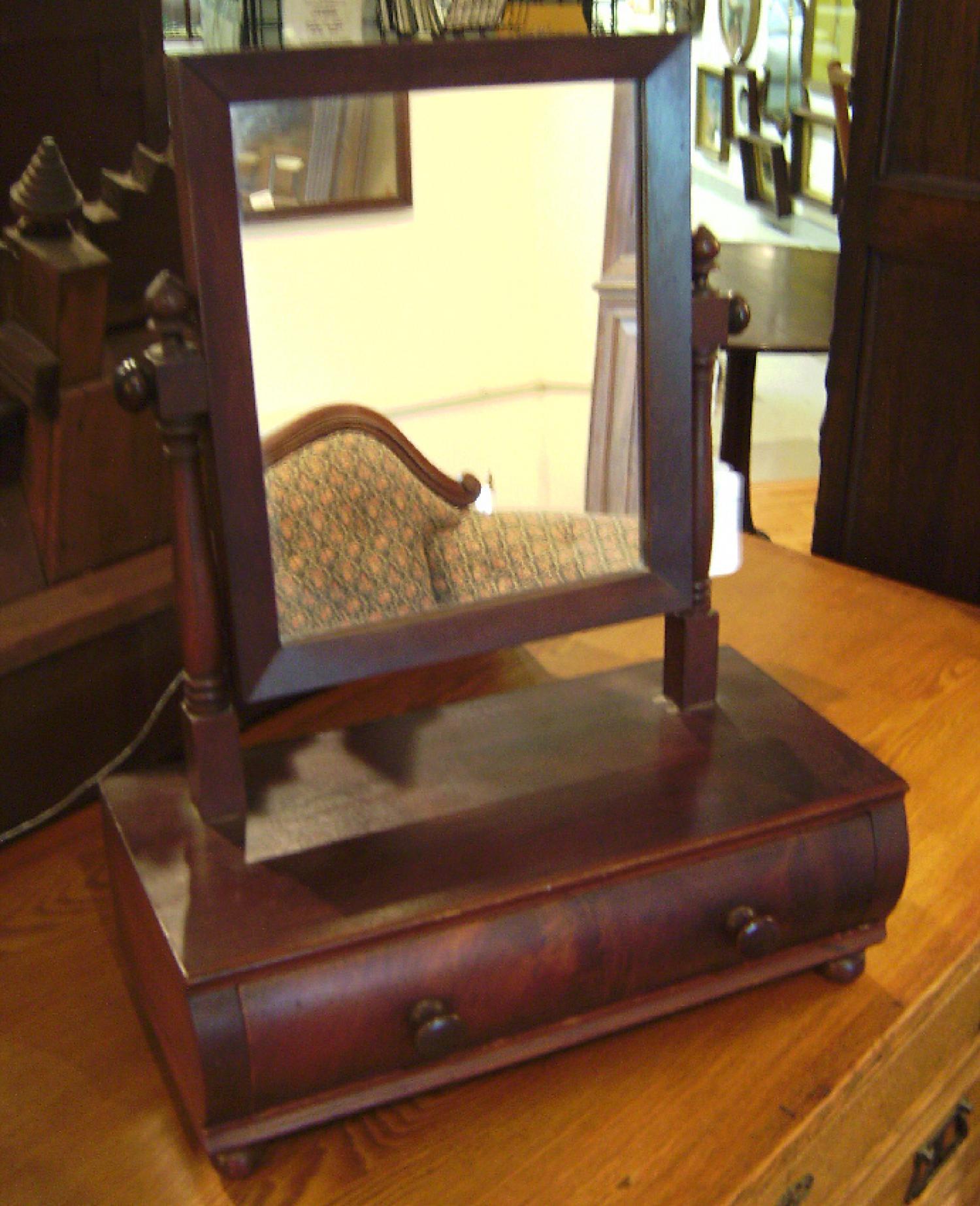 American Sheraton Dresser mirror 1820