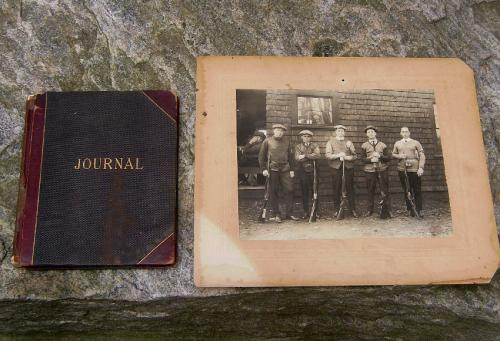 Norwich shooting club journal and photographs