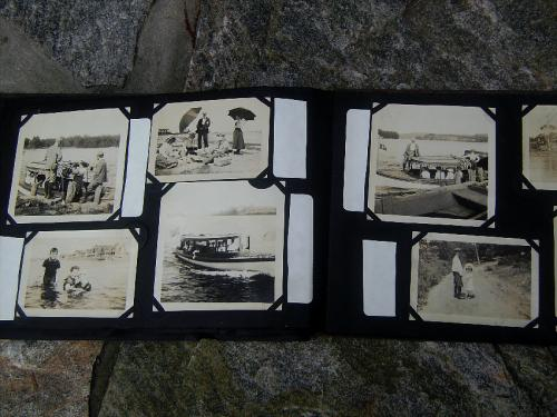 Photo albums Early 20thc New England