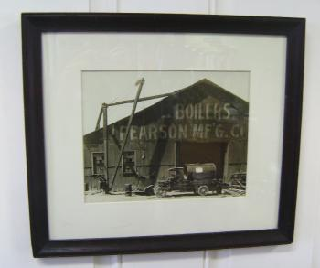Image of Huber Bros Pittsburgh PA photograph of Pearsons Boilers Mfg