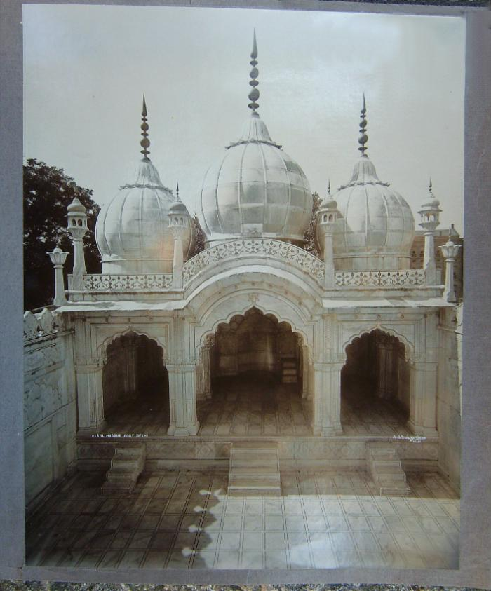 H A Mirja and Sons photograph of the pearl Mosque Fort Delhi