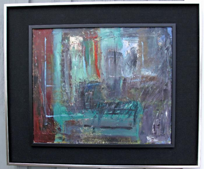 Matilda Antoinette Goodridge abstract expressionist oil painting