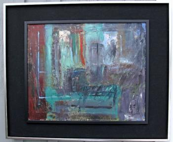 Image of Matilda Antoinette Goodridge abstract expressionist oil painting