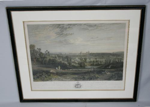 A View of Oxford from the Abingdon Road c1818