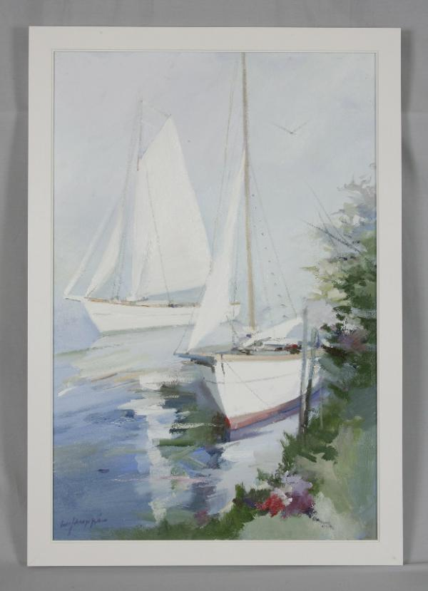 Price my item value of charles gruppe oil painting on for Oil paint price