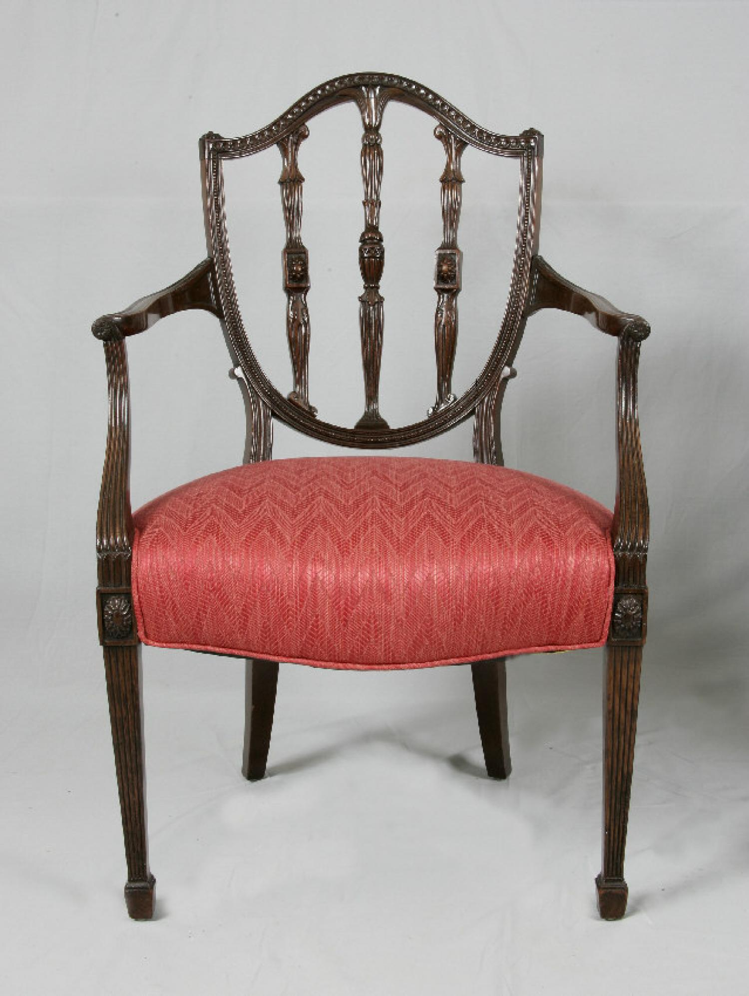 Federal style Centennial mahogany arm chair