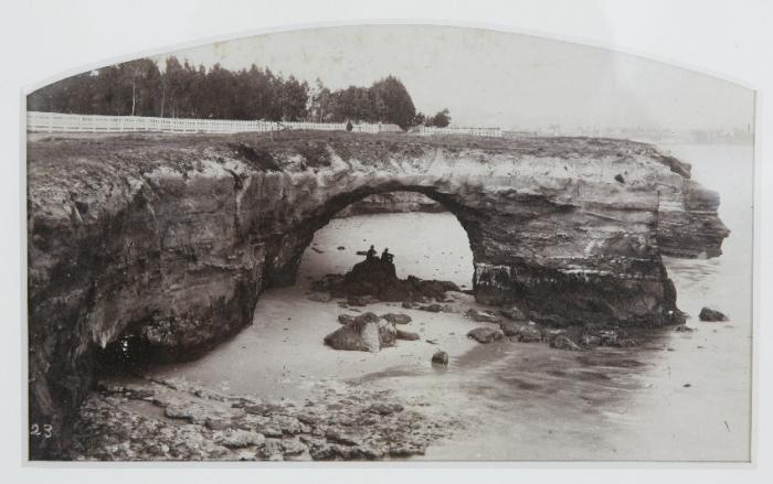 Albumen Photograph of California coastline in 1880