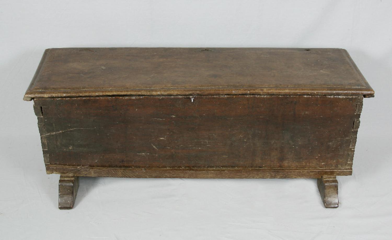 17th century Early American walnut  blanket box c1690