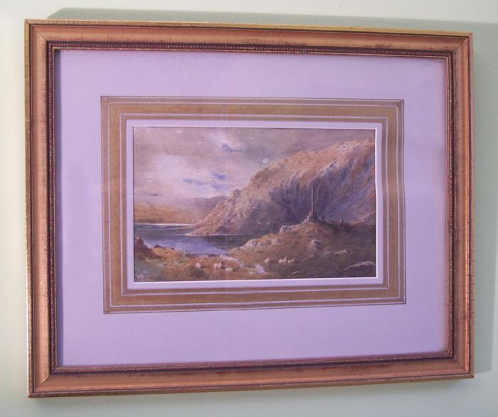 William Biscombe Gardner 1881 English watercolor landscape