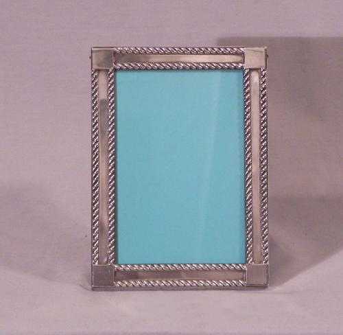 Vintage Tiffany and Co Makers sterling silver picture frame