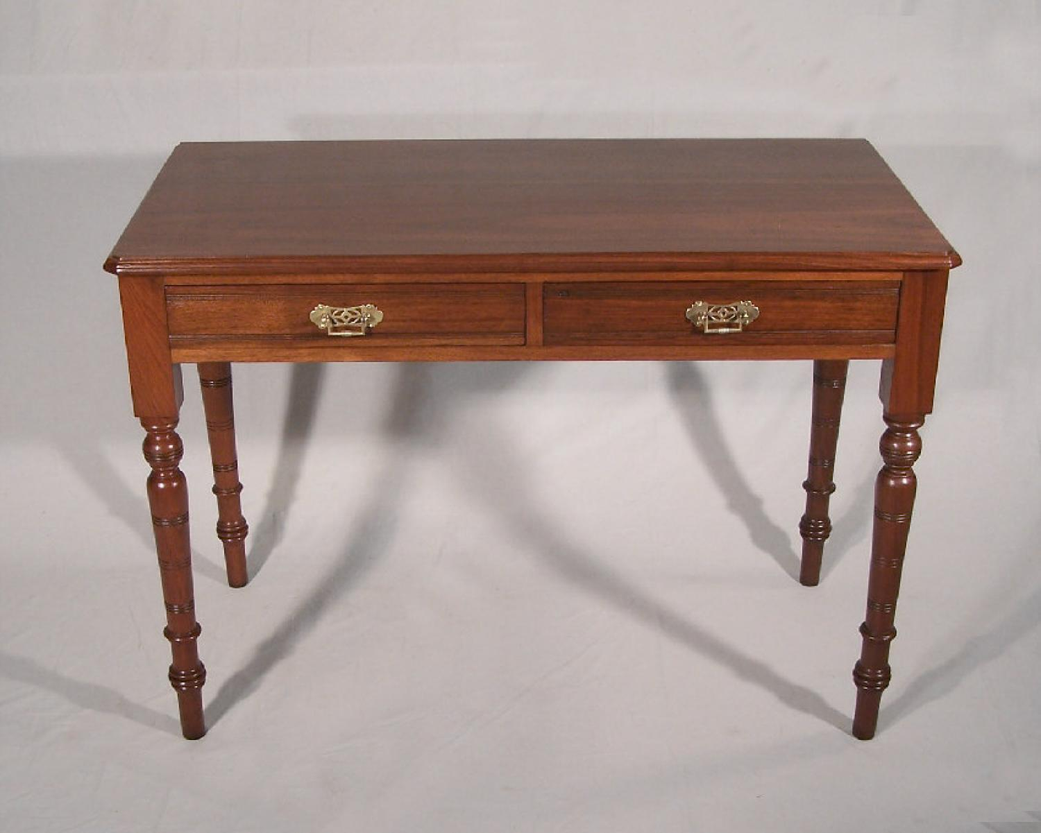 American black walnut library desk or table c1875