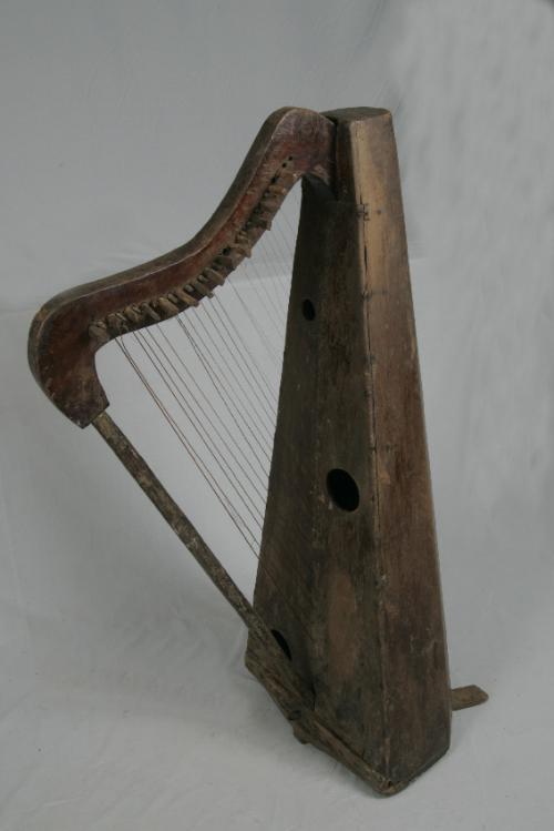 Continental late Renaissance harp