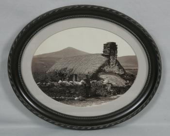 Image of 19th century Isle of Man cottage photograph Hudson Series