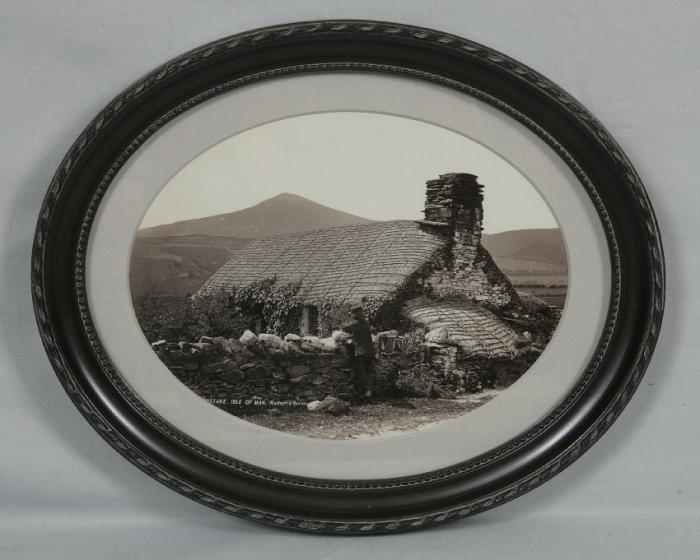 19th century Isle of Man cottage photograph Hudson Series