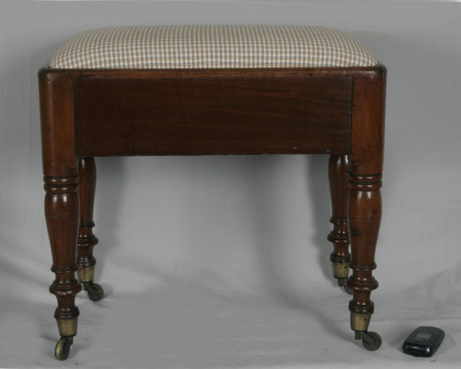 English 19th century foot stool c1830