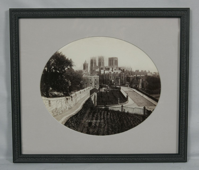 Vintage Photo of York Minster c1870