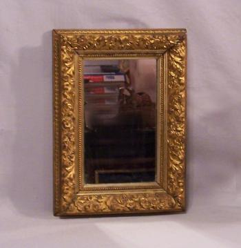 Image of American gold leaf mirror c1870