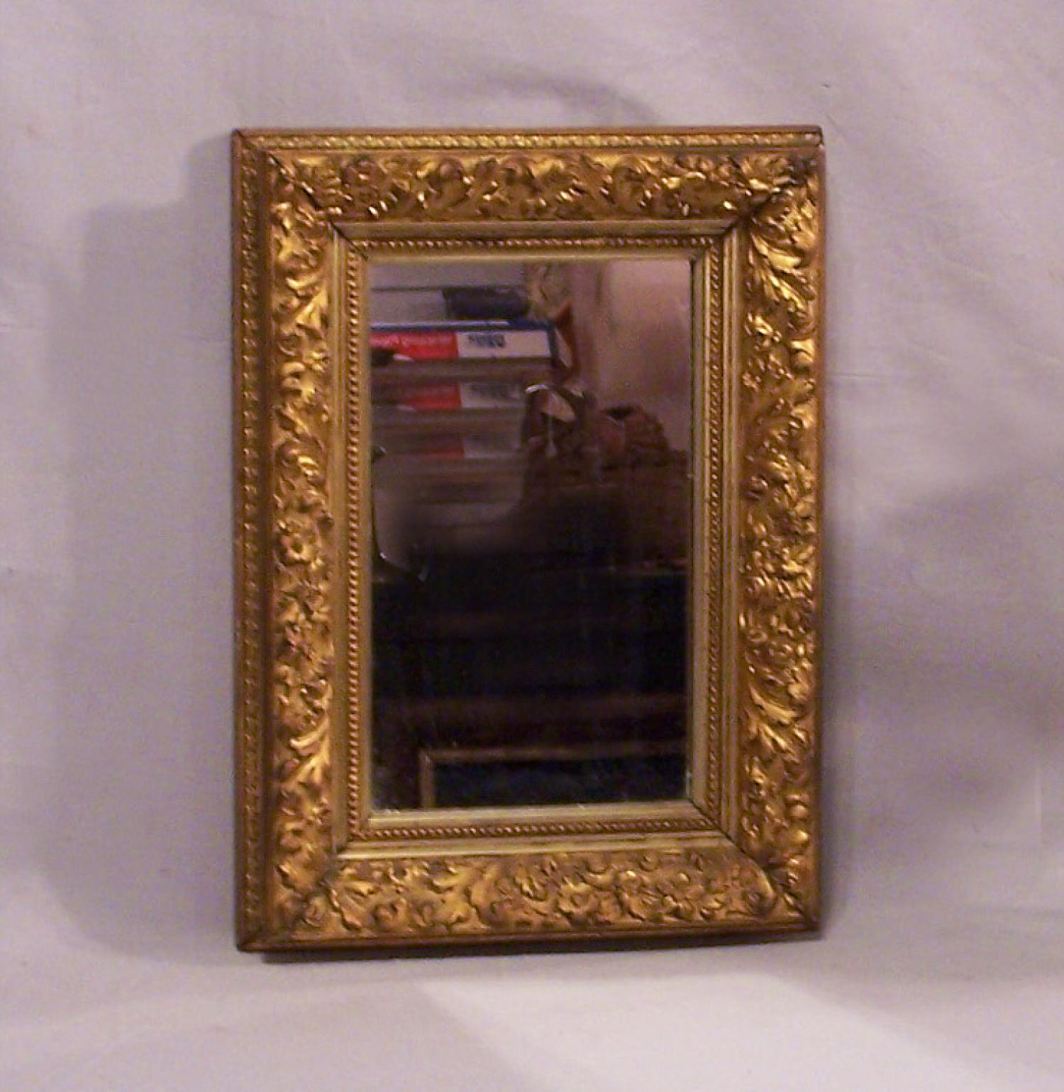 American gold leaf mirror c1870