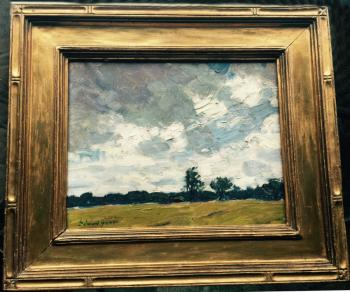 Image of Edward Seago impressionist landscape oil painting