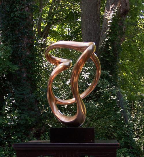 Grediaga A Kieff modern art abstract bronze sculpture