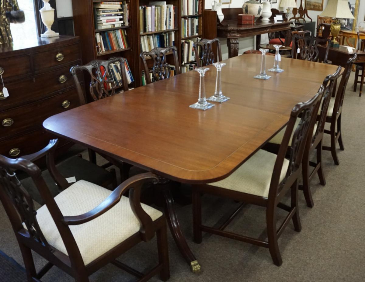 Baker Dining Room Table Price My Item Value Of Vintage Baker Furniture Mahogany Dining