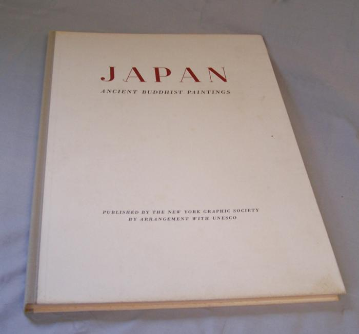 Japan Ancient Buddhist Paintings book NY Graphic Society