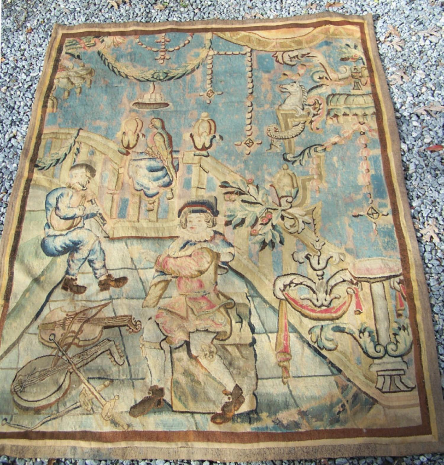 16th century Franco Flemish tapestry