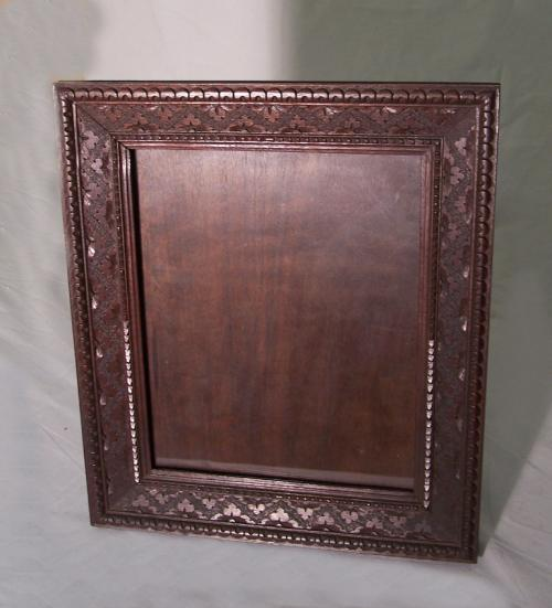 The Artisans Shop Biltmore NC walnut picture frame